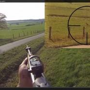 Saison de chasse en battue dans les Vosges 2014/2015, tirs de sangliers partie 1
